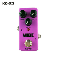 KOKKO FUV2 Mini Electric Guitar Effect Pedal Vibe Analog Rotary Guitar Speaker With 4 Stage Phase