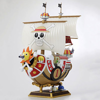 26CM Anime One Piece Thousand Sunny Pirate ship Model boat PVC Action Figure Collectible Toy onepiece figure
