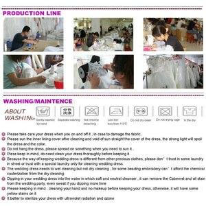 Image 2 - Shamai marfim uma camada 1t catedral véu de casamento com pente preto longo apliques véus de noiva tule branco laço véus de casamento