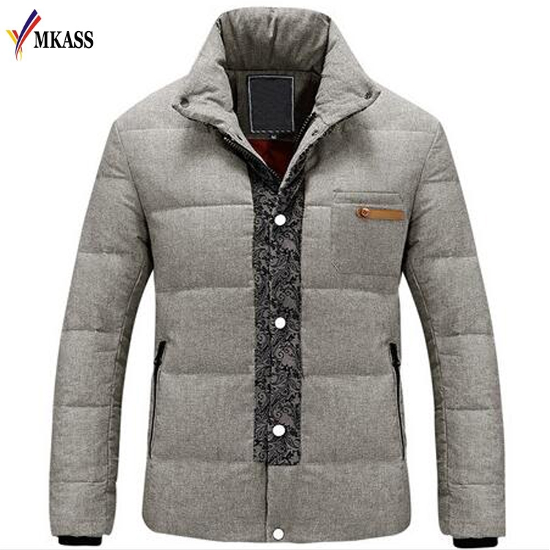 2018 New Brand Winter Warm Jacket For Men Coats Casual Mens Thick Male Slim Cotton Padded Fit Snow Cold Outerwear
