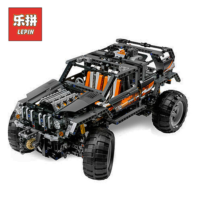 In Stock DHL Lepin Set 20030 1132Pcs Technic Figures SUV off-roader Model Building Kits Blocks Bricks Educational Toys Gift 8297 lepin 20030 1132pcs technik ultimate off roader cars legoingly 8297 sets building nano block bricks toys for boy gifts