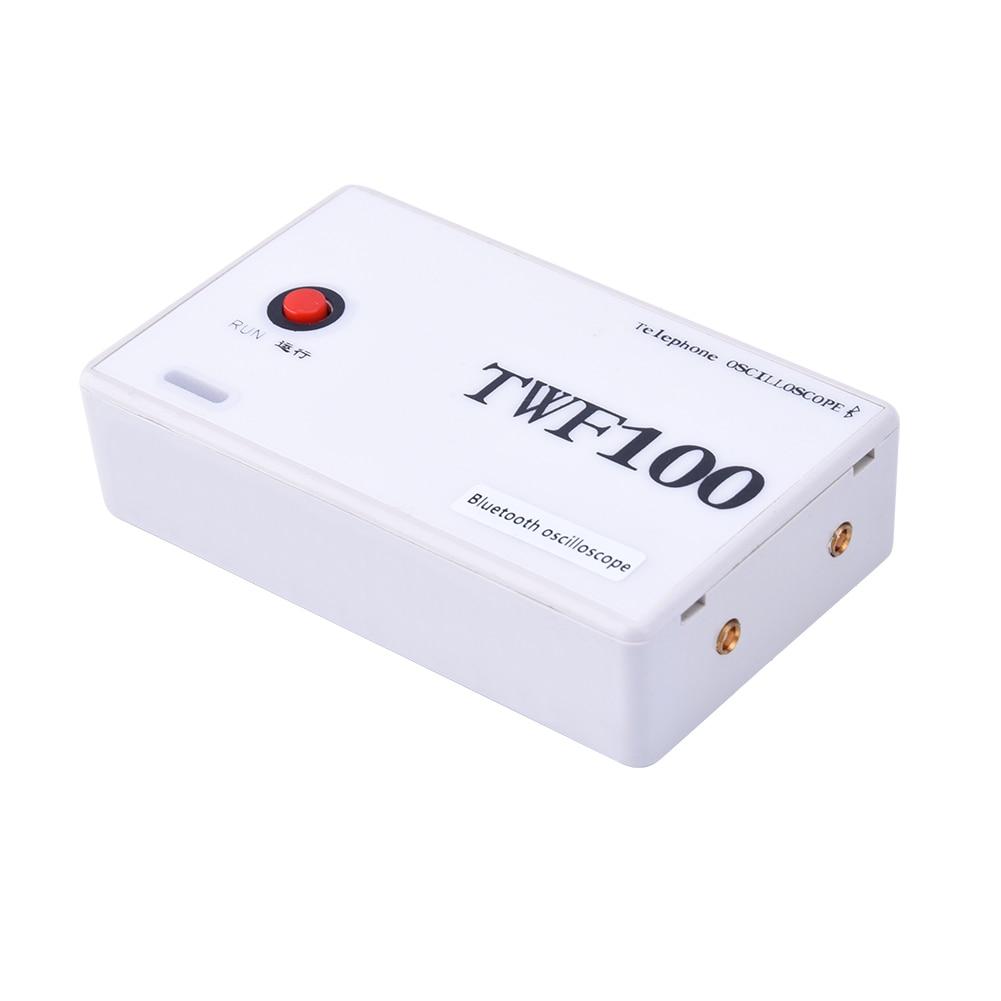 Oscilloscope numérique TWF100 2CH USB Mini Oscilloscope Bluetooth compatible Android 4.0 ou supérieur téléphone Mobile/PAD
