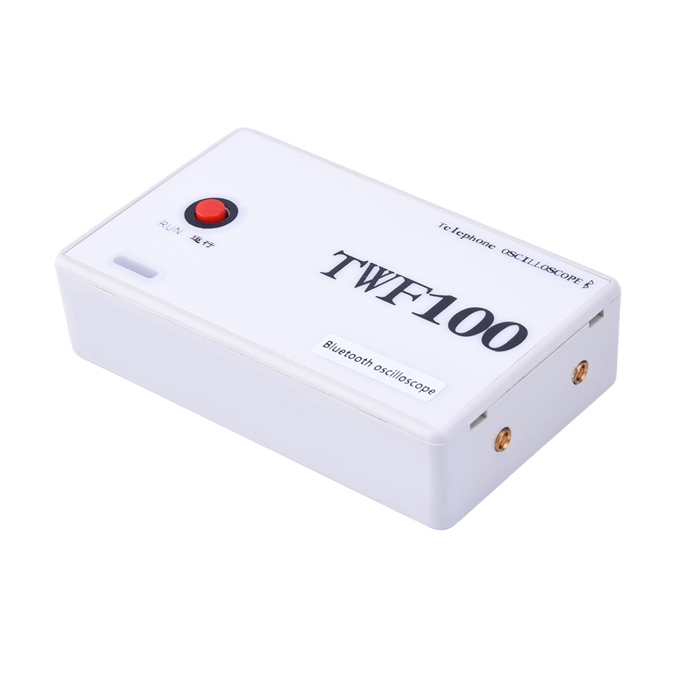TWF100 2CH USB Digital Oscilloscope PC Mini Oscilloscope Bluetooth Support Android 4.0 Or Above Mobile Phone / PADTWF100 2CH USB Digital Oscilloscope PC Mini Oscilloscope Bluetooth Support Android 4.0 Or Above Mobile Phone / PAD