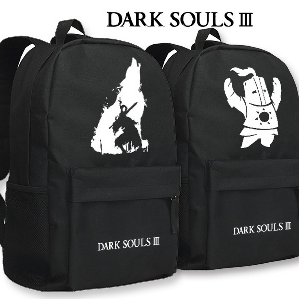 MeanCat DARK SOULS III Shoulder Mochila Knight of the Sun School Backpack for Dark Souls Fans Boys and Girls Students Adults dark souls iii – the fire fades edition [xbox one]