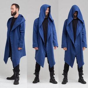 Mode Koreanischen männer Mit Kapuze Jacke Langarm Strickjacke Gothic Hoodie Sweatshirt Punk 2019 Hoody Jacke Mantel Weibliche Outwear