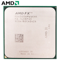 AMD FX Series FX 6300 CPU Processor Socket AM3+ 95W 3.5GHz 8MB 940 pin Six Core Desktop Processor CPU amd socket am3+