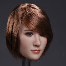 Custom 1/6 Head Sculpt ZCTOYS 1/6 T-06 Asian actress Head Carving Model For 12 Phicen JIAOUL Action Figure Doll Toys цена