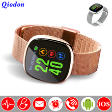 Blood Pressure Bluetooth Connectivity Smart Watch Clock Waterproof Swim Heart Rate Smartwatch Fitness Watch For Android