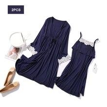 2Pcs/Set Pregnancy Maternity Pajamas Sleepwear Nursing Pregn
