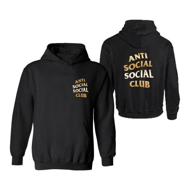 Социальных Социальные Клуб С Капюшоном Мужские xxxl Балахон в 4XL Мужские GD Kanye West Толстовки и Кофты Спортивная Одежда Хлопок