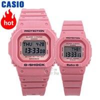 Casio watch Analogue Men's and Women's limited sports waterproof fashion couple pair watch set LOV 18B