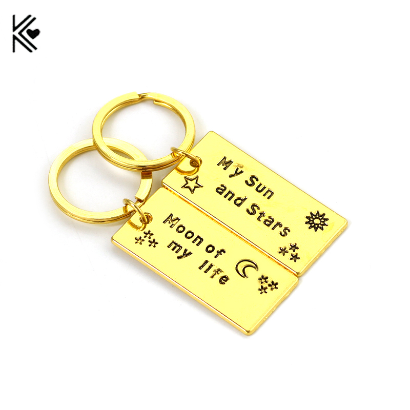Game of Thrones Keychain Moon of My Life, My Sun and Stars Game of Thrones Gift For Lovers Accessories Holder for Car Fashion