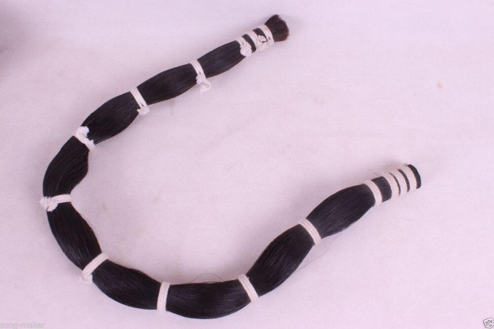 Livraison gratuite avance modèle 200g violon arc cheval cheveux naturel cheval queue arc cheveux 75 cm-80 cm