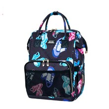 Mummy Bag Shoulder Diaper Bag Fashion Simple Large Capacity Shoulder Mother And Baby Bag Pocket Nurse Organizer Backpack Trip fashion shoulder multifunctional large capacity mummy pack mother and baby outside backpack mama pack womens pack mother bags