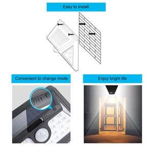 Image 5 - 34 LED Solar Light Motion Sensor Solar Powered Night Security Wall Lamp Waterproof Garden Light for Patio Lawn Garden Corridor