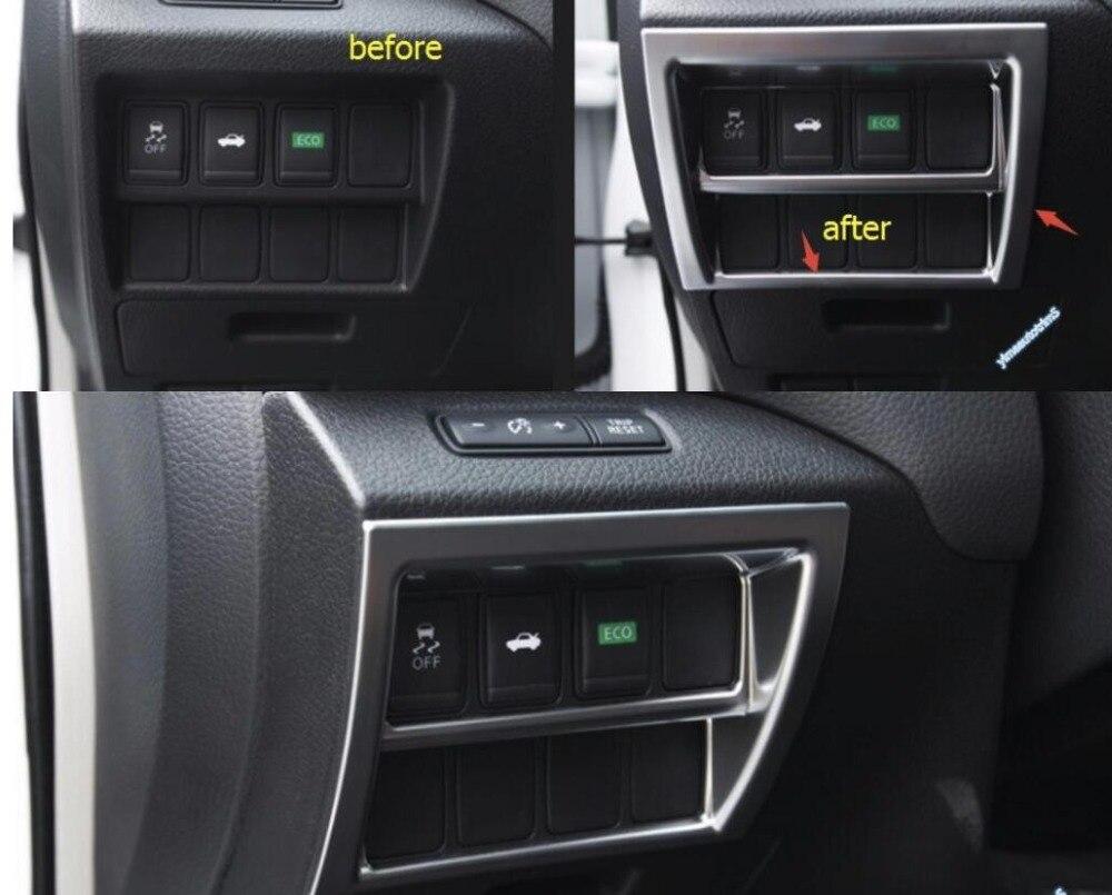 5d1433279 Lapetus ABS سيارة التصميم إضاءة أمامية التبديل إطار صب الداخلية تقليم 1 قطع  لنيسان Teana/ألتيما 2013 2014 2015 2016 2017