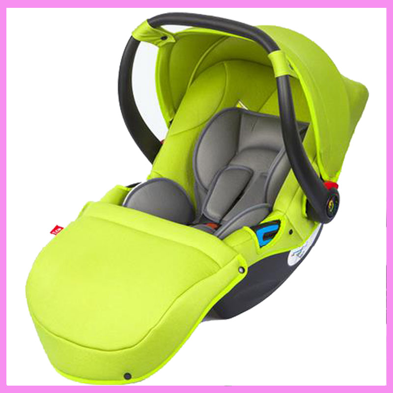 0-15 M Portable Newborn Baby Infant Sleeping Basket Child Car Safety Seat Five-point Harness Vehicle Newborn Cradle Travel Seat free ship brand new safe neonatal basket style car seat infants handle basket seat newborn babies car safety seats free shipping