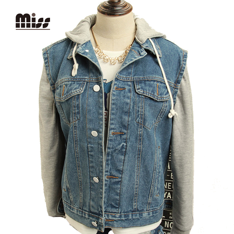 Popular Denim Hoodie Jacket-Buy Cheap Denim Hoodie Jacket lots ...