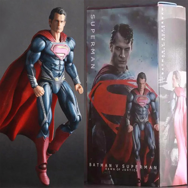 ФОТО Crazy Toys Batman v Superman Dawn of Justice Superman PVC Action Figure Collectible Toy 10