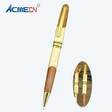 MB Patchwrok Wooden Ballpoint Pen Cross style refill retractable Ball Office &School Supplier & Pencil WritingInstrument