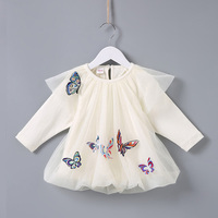 Baby Girl Dress 2018 Spring Autumn Infant Girls Clothes Fashion Princess Dress Newborns Birthday Party Dresses