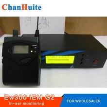 Для оптовых продавцов, профессиональные беспроводные наушники мониторы G2 stage, отправитель получает хорошее качество для реселлера