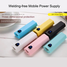 5V 1*18650 USB Power Bank Battery Box Mobile Phone Charger DIY Shell Case Storage Case Box with Package for iPhone Android цена и фото