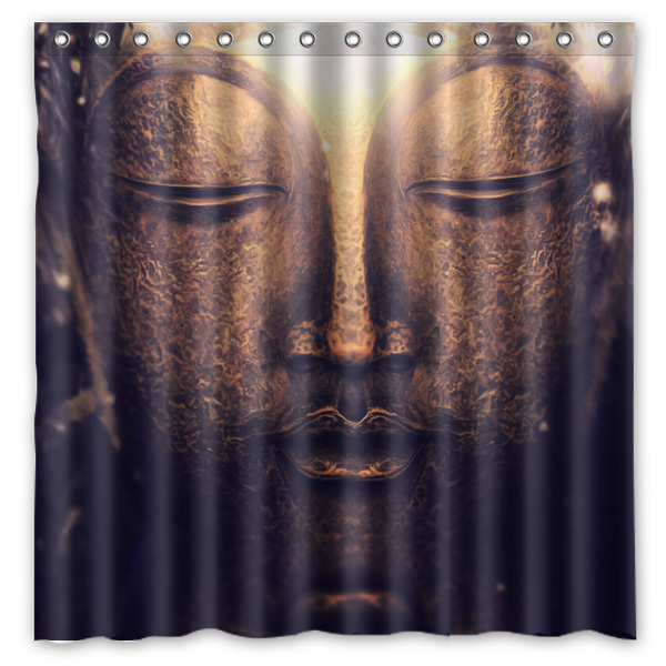 Awesome Curtains Ideas Buddha Shower Curtain : Popular Bathroom Buddha Buy Cheap  Bathroom Buddha Lots From