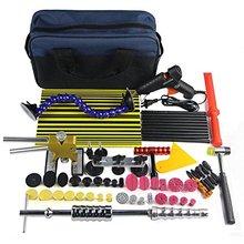 PDR Paintless Dent Repair Tool Kit 56 unids Slide Hammer Dent Levantador de Abolladuras Sin Pintura Eliminación Hail Kits