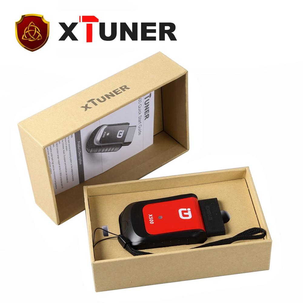 Prix pour [XTUNER Distributeur] XTUNER X500 Bluetooth Fonction Spéciale Outil De Diagnostic fonctionne avec Android Téléphone/Pad