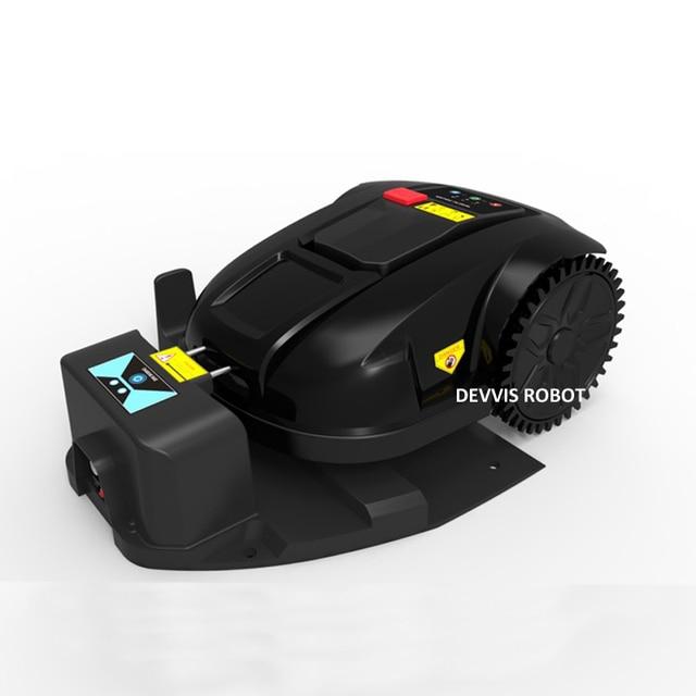 Cheapest Robot Lawn Mower Grass Cutter E1800S Garden Mowing Robot With 2.2AH Li-ion Battery, Water-proofed charger 4
