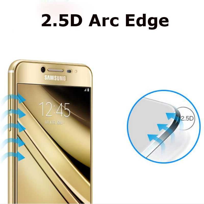 EKDME Full Cover Tempered Glass For Samsung Galaxy J7 2017 J5 J3 Screen Protector For Samsung J7 J730 J 7 5 3 Protection Film