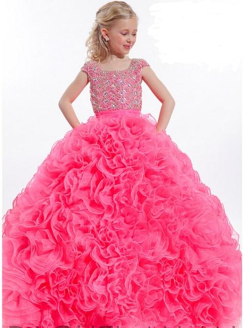 Vestido longo de princesa