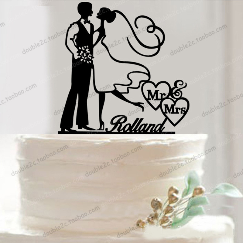 Wedding Cake Toppers Bride And Groomlaser Wedding Cake Stand