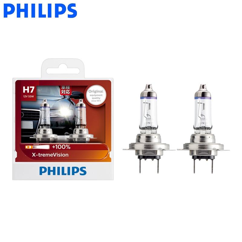 2 x Philips Vision H8 High Performance Auto Halogenlampe Scheinwerferlampe