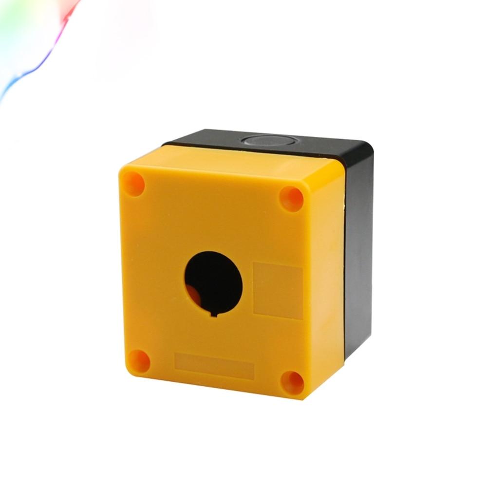 Equipment Lift Elevator Urgent Emergency Stop Push Button Switch Box Fireproof Waterproof Dustproof One Hole 22/25mm BX1-22  25