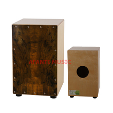 Afanti Music Birch Wood / Natural Cajon Drum (KHG-162)