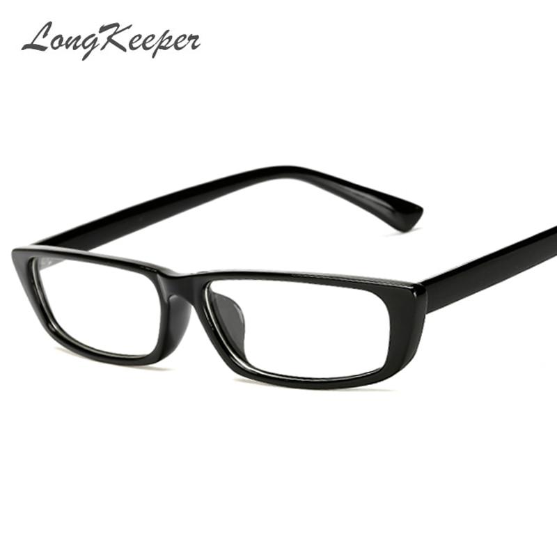 Long Keeper Classic Small Square Glasses Frames Men Women Brand ...
