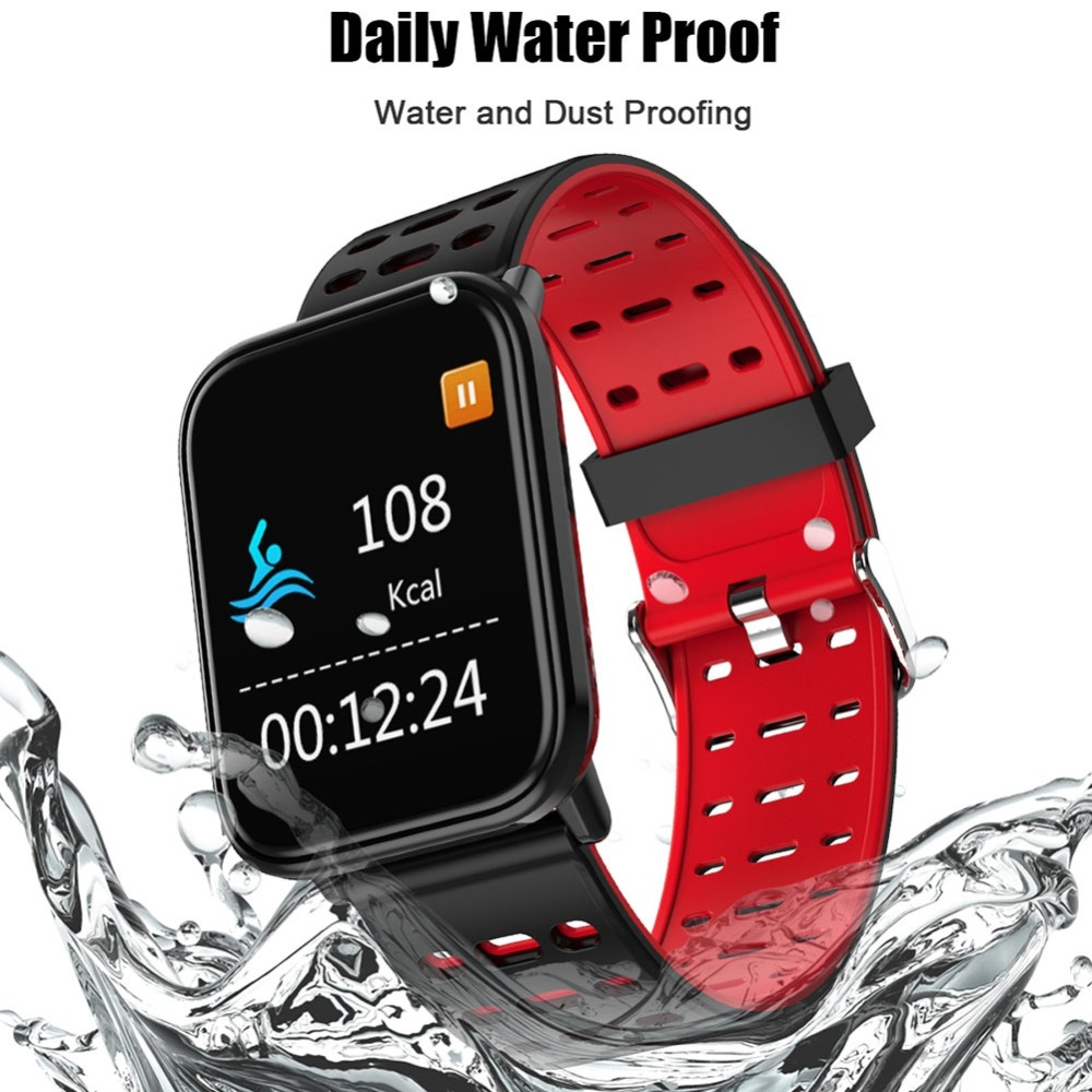 Hot Smart Bracelet Fitness Tracker Watch Heart Rate Monitor Bracelet Color Touch Screen Smart Watch Pedometer Activity Monitor