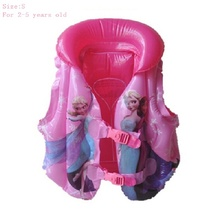 For 2-4 Years Old Kids Swimming Life Jacket Baby Swimwear Inflatable Safety Vest Veste De Sauvetage Baby Swim Vest Accessories