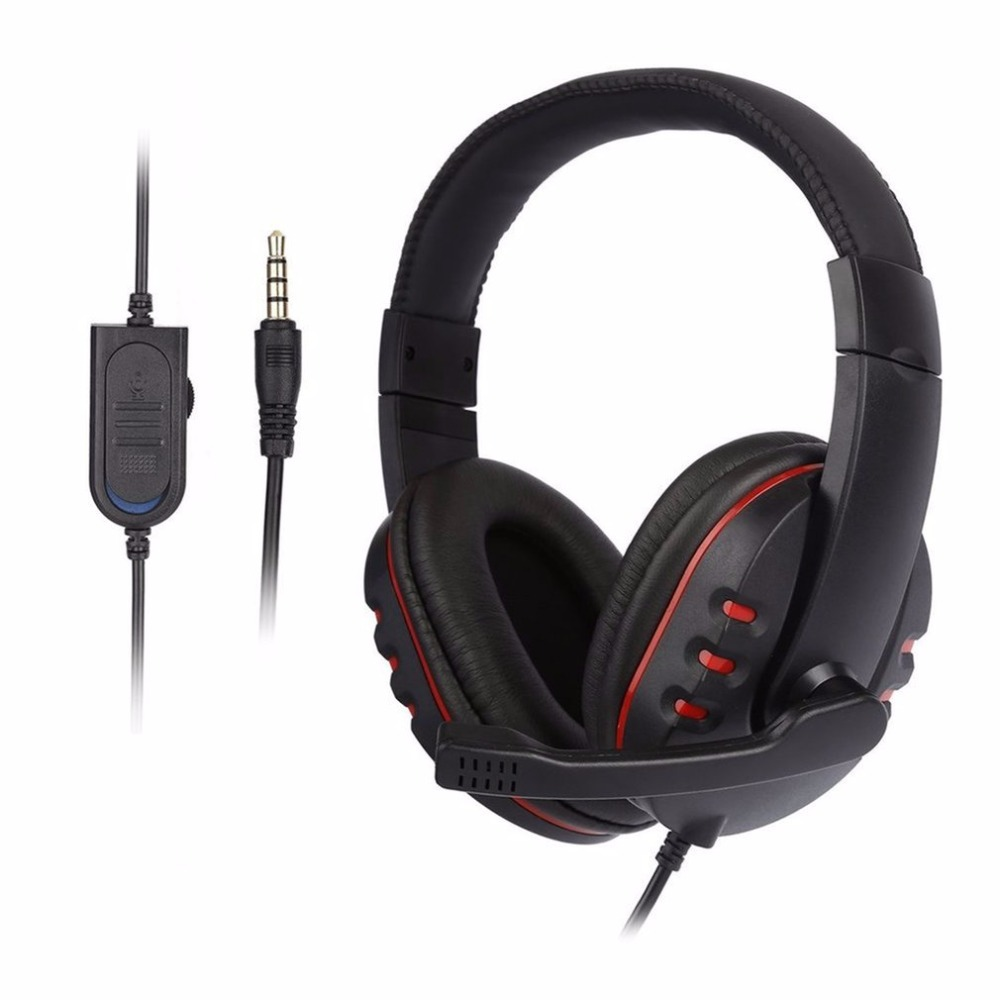 LESHP Laptop PC Computer Wired Headphone Stereo Music Gaming Headband H