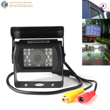 Waterproof IR Night Vision Car Rear View Roller Camera 120 Wide Angle Lens 480TVL Auto Rearview Reverse Backup Parking Camera