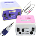 Professional Nail Art File Electric Drill Machine Kit for Acrylic, Glass Silk Wrap Artificial Nails and Natural Finger/Toe Nail