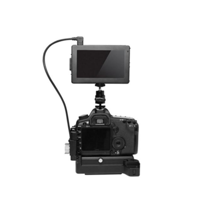 Lanzamiento de obturador GGS SWIVI Bigview SV-50H II Pantalla plegable LCD Externa la Conexión Integral Pico Auxiliar de Enfoque