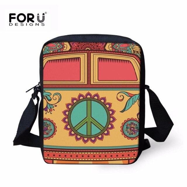 7fbb85e42f3c FORUDESIGNS Bus Crossbody Bag For Kids Boys Girls Camera Printing Women  Cartoon Messenger Bags Travel Small Cute Children Purse