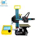 Alta calidad CREALITY 3D marco de Metal barato fácil de montar Mini CR-7 3d impresora