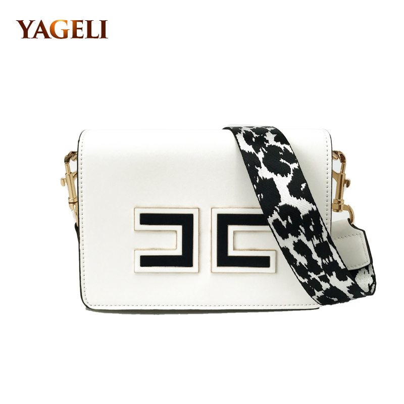 купить 2018 fashion ladies shoulder bag brand design PU leather crossbody bags for women small female shoulder messenger bags по цене 2198.36 рублей