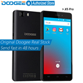 Doogee x5 pro teléfonos móviles 5.0 pulgadas hd 2 gb ram + 16 gb rom android 5.1 Dual SIM MTK6735 Quad Core 5.0MP 2400 mAH GSM WCDMA LTE WIFI
