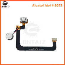 High Quality USB Flex Cable For Alcatel One Touch Idol 4 Idol4 Dock Connector Charging Charger Port With Microphone