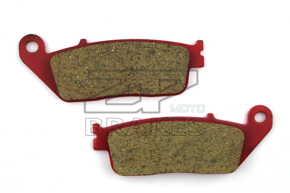Motorcycle Parts Brake Pads For HONDA FMX 650 5/6 2005-2008 SH 150i 2014 Front OEM New Red Composite Ceramic Free shipping
